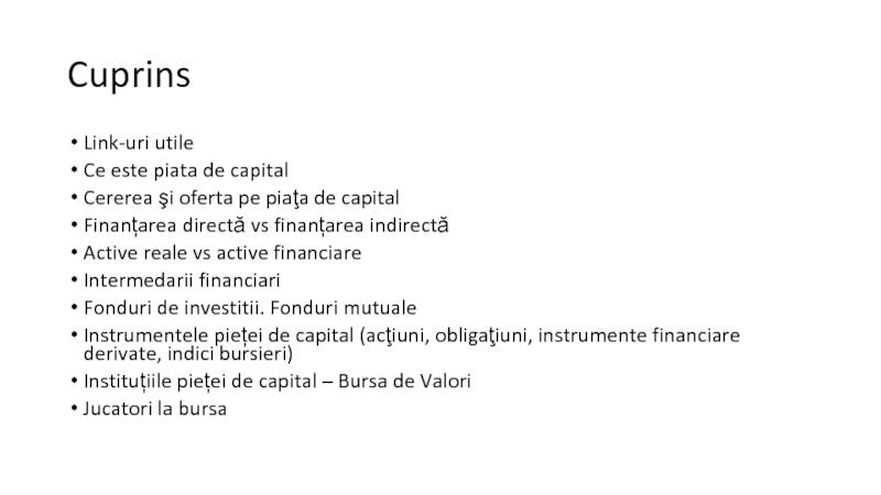 investiții în active financiare opțiunea tc